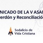 Comunicado de la V Asamblea: Perdón y Reconciliación