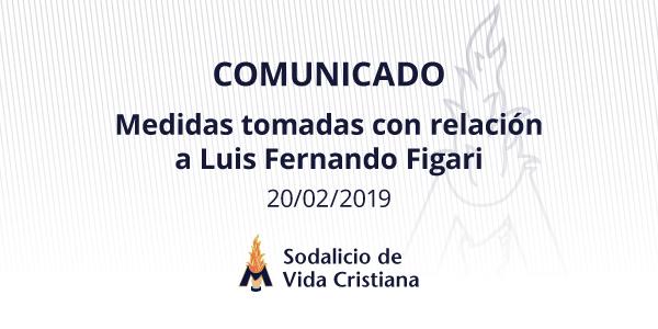 Comunicado del Sodalicio de Vida Cristiana sobre las medidas tomadas con respecto a Luis Fernando Figari - Noticias Sodálites
