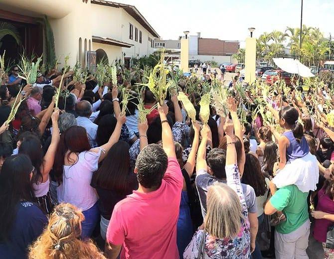 Domingo de Ramos - Lima - Sodalicio de Vida Cristiana