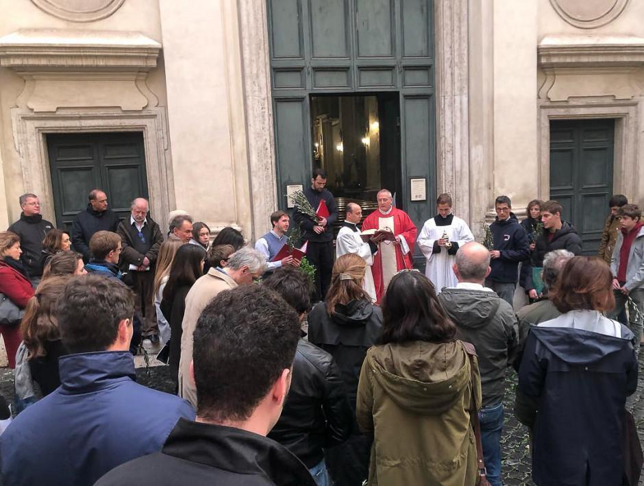 Domingo de Ramos - Italia - Sodalicio de Vida Cristiana