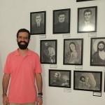 Álvaro Díaz presenta la santidad a través de la pintura