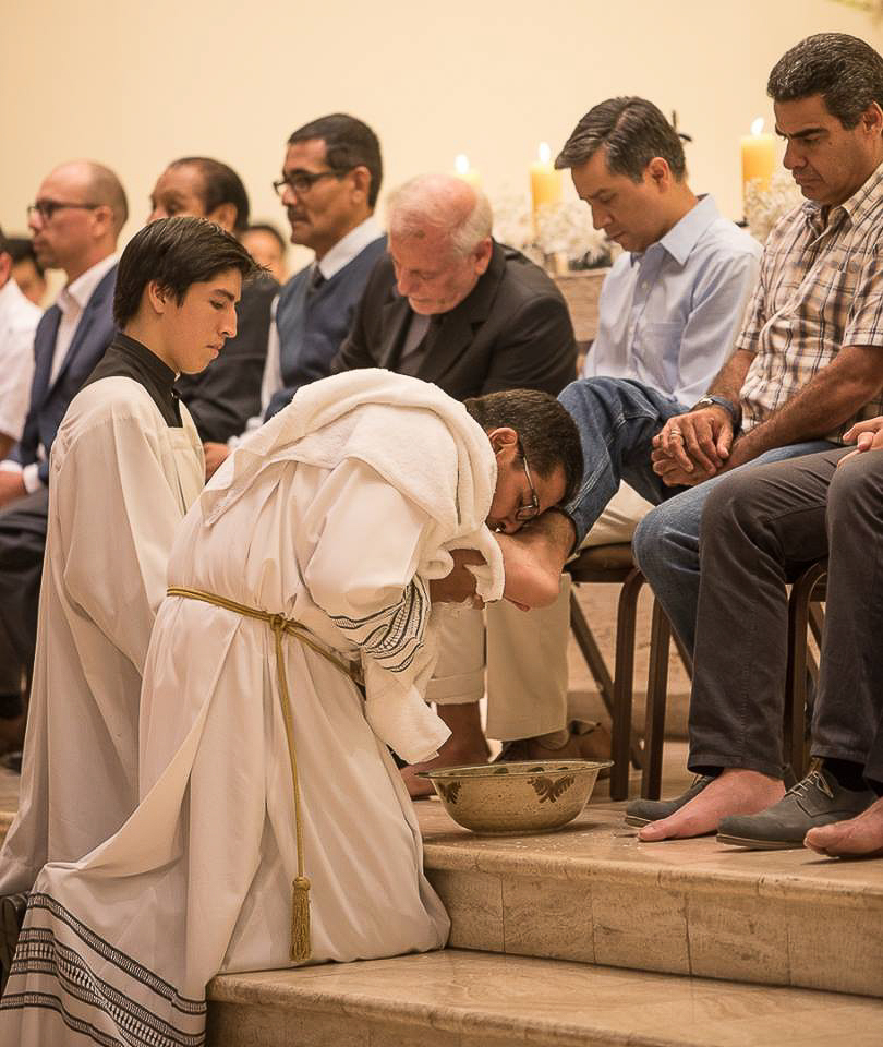 Jueves Santo - Lima - Sodalicio de Vida Cristiana