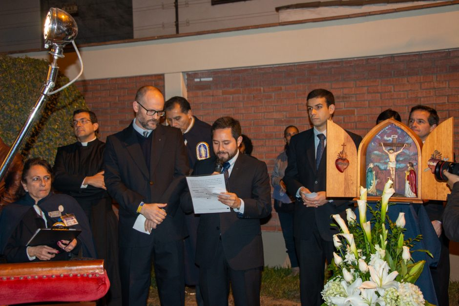 Homenaje del Sodalicio de Vida Cristiana a Nuestra Señora de la Reconciliación en Lima - Noticias Sodálites (4)