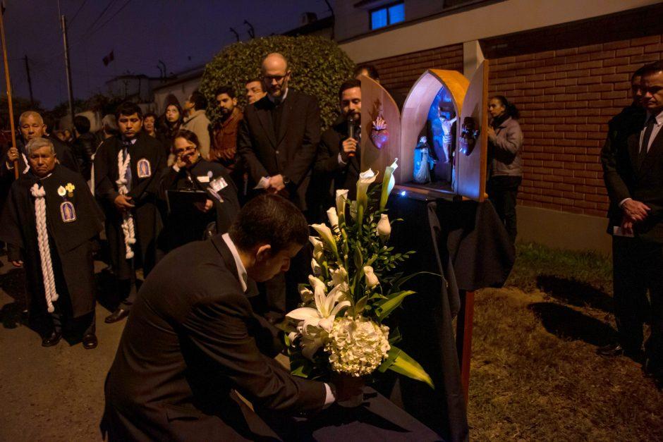 Homenaje del Sodalicio de Vida Cristiana a Nuestra Señora de la Reconciliación en Lima - Noticias Sodálites (5)