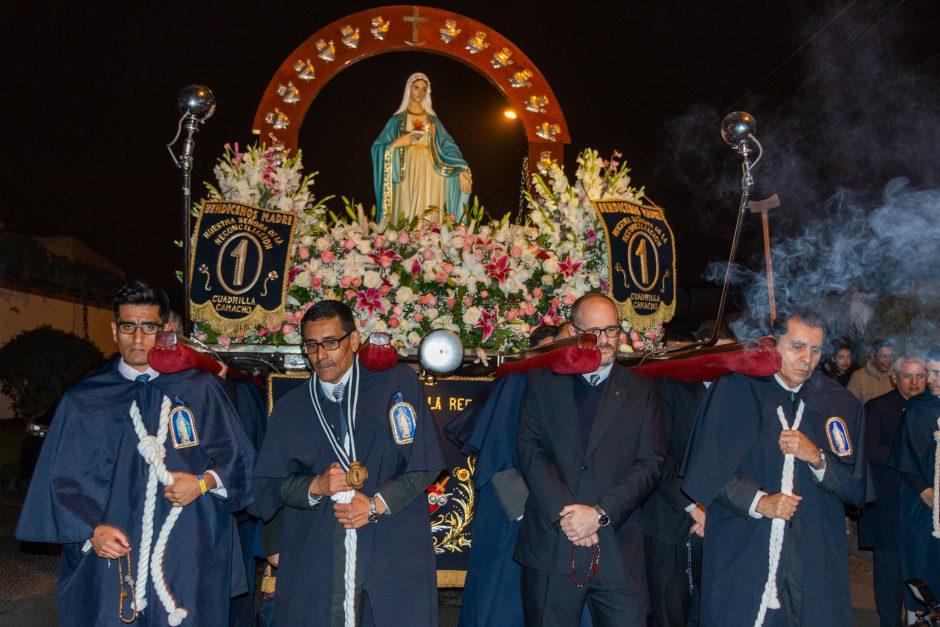 Homenaje del Sodalicio de Vida Cristiana a Nuestra Señora de la Reconciliación en Lima - Noticias Sodálites (9)