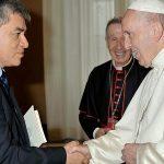 Gustavo Sánchez: «Encontrarme personalmente con el Papa es una experiencia única y maravillosa»
