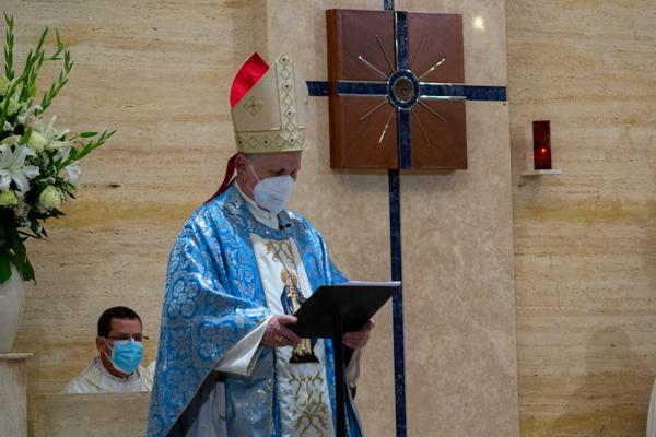 Mons. Tomasi invitó a Luis Alfonso al compromiso de seguir a Jesús